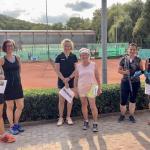 Doreen Steigleder, Sandra Reinfelder; Clara Ettinger, Erika Moser; Lori Bräutigam, Karin Böhm