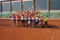 Tenniscamp bei der Tennisabteilung