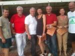 Sieger der Klassik Open mit Vorstand Norbert Wittig